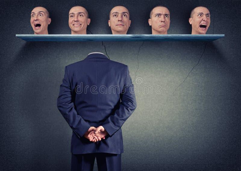 Hoofd selectie royalty-vrije stock foto's