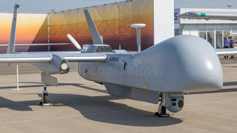 EADS Harfang uav drone stock photo
