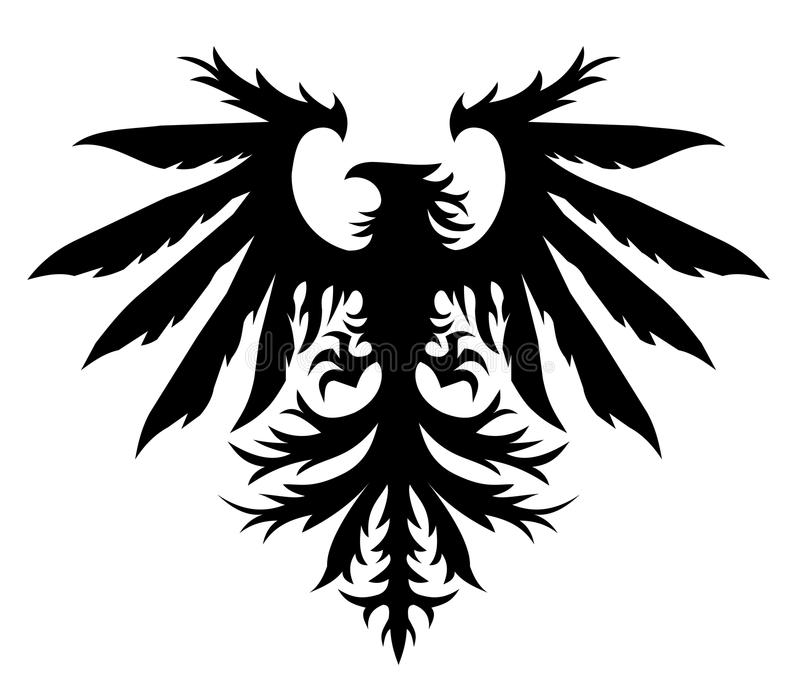 Download Eagle stock illustration. Image of beak, glare, black - 13196535