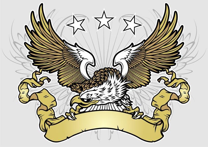 Eagle ilustração do vetor