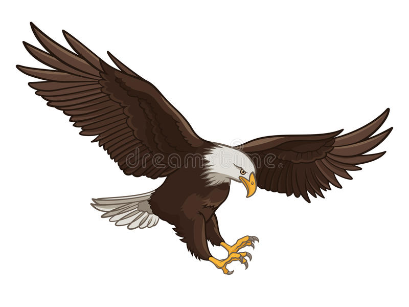 Eagle illustration libre de droits
