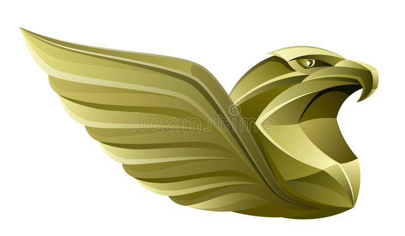 Or Eagle illustration stock