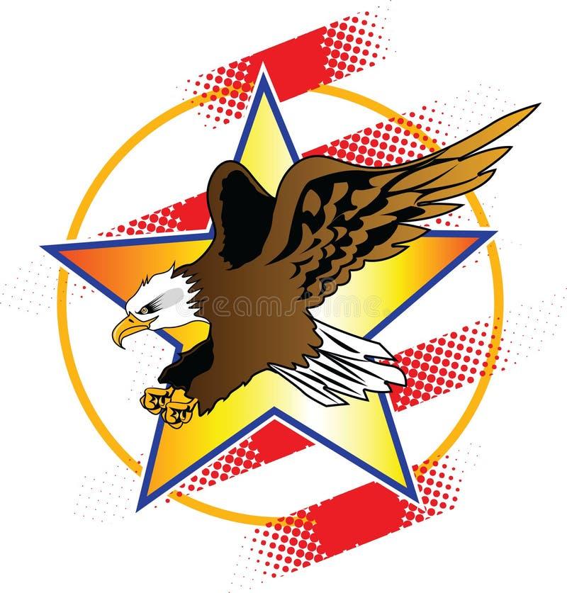 Download Eagle 6 stock vector. Illustration of shirts, flight - 17659437