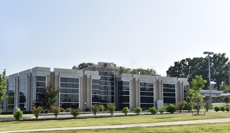 Eagle Bank e Trust Building, Conway Arkansas foto de stock royalty free