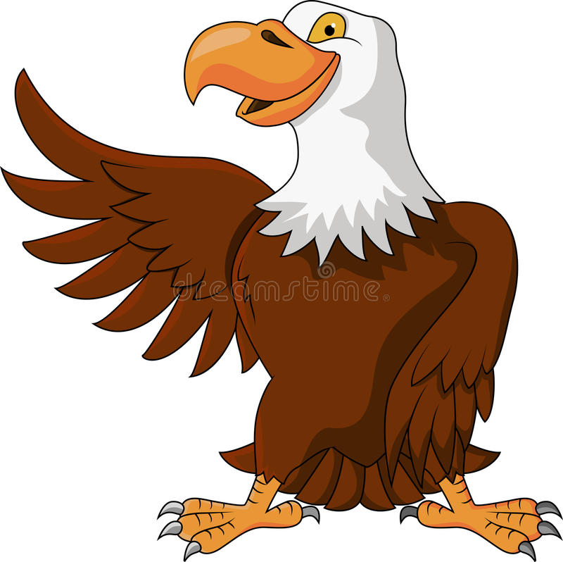 Download Eagle cartoon stock vector. Illustration of feather, claw - 27330003