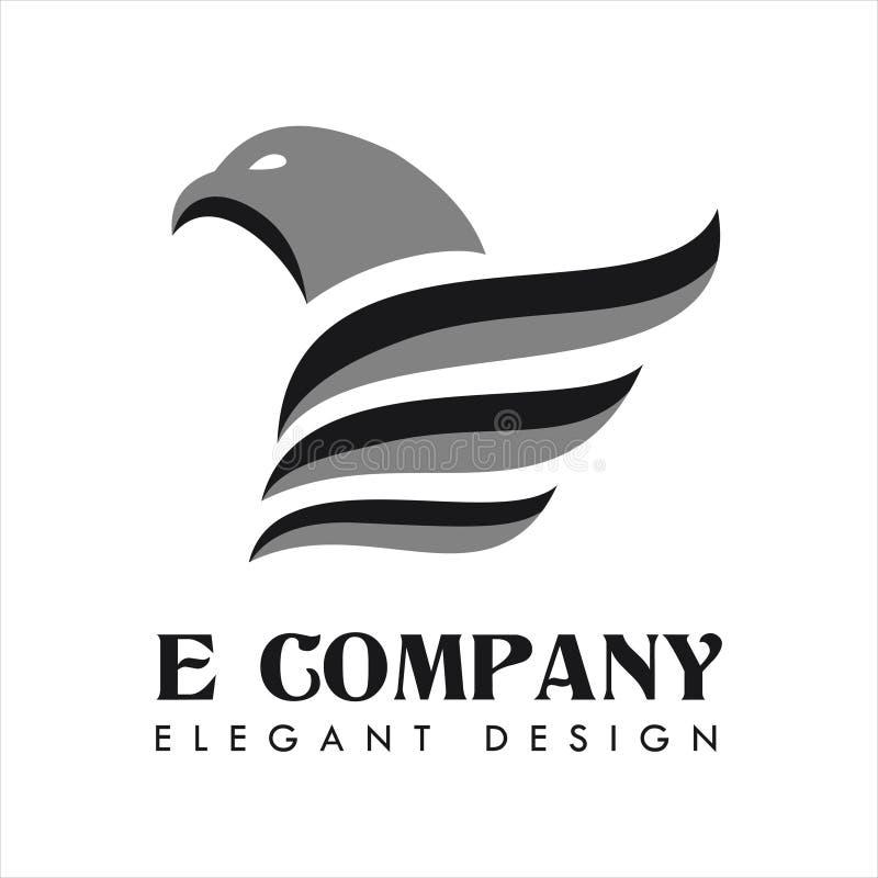 Eagle Company Logo Vetora ilustração stock