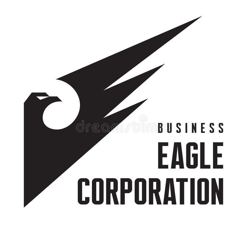 Free Eagle Corporation - Logo Sign For Business Company Royalty Free Stock Photo - 39842335