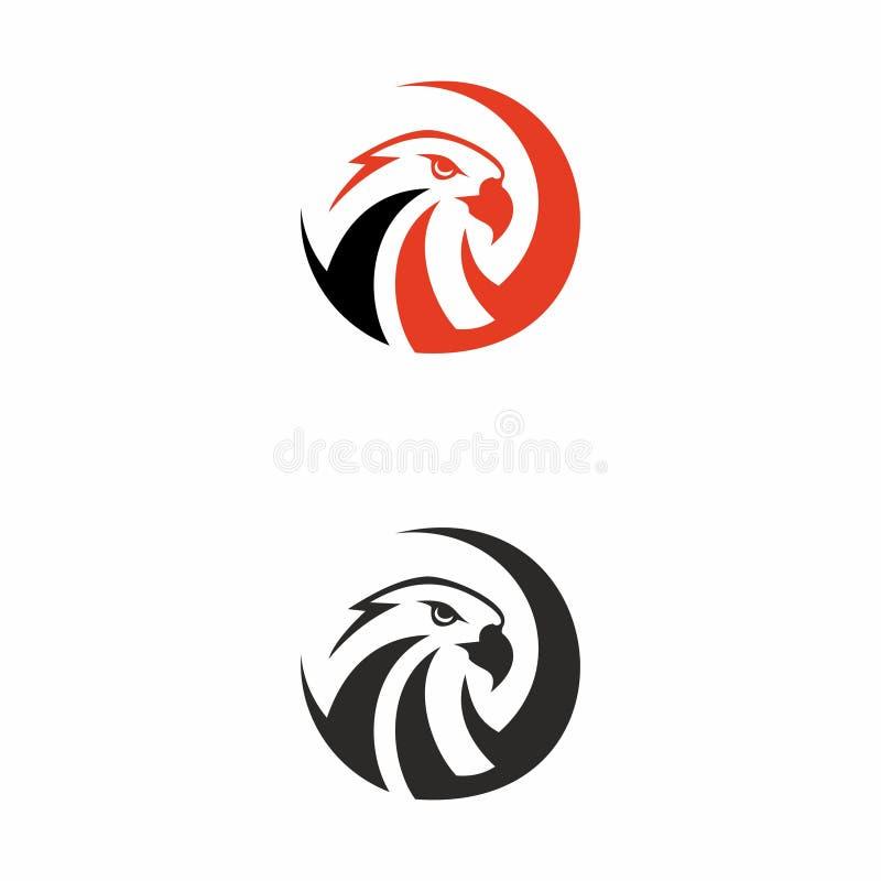Eagle-embleem vector illustratie