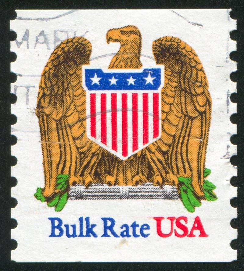 Eagle en Schild royalty-vrije stock afbeeldingen