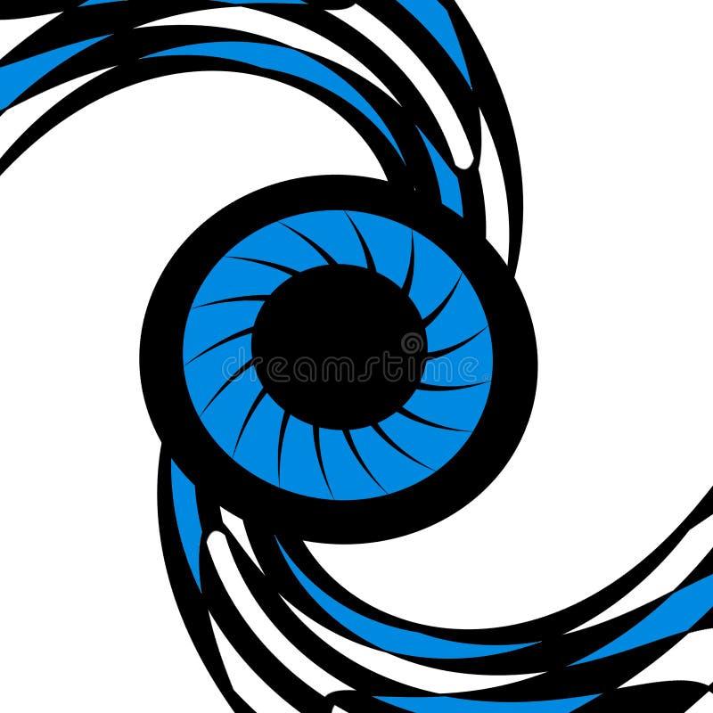 Download Eagle eye stock illustration. Illustration of decoration - 8075868