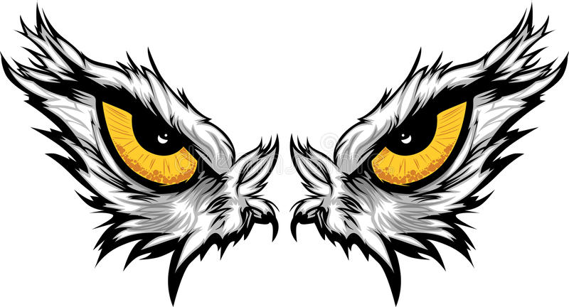 Eagle Eyes Illustration vector illustration