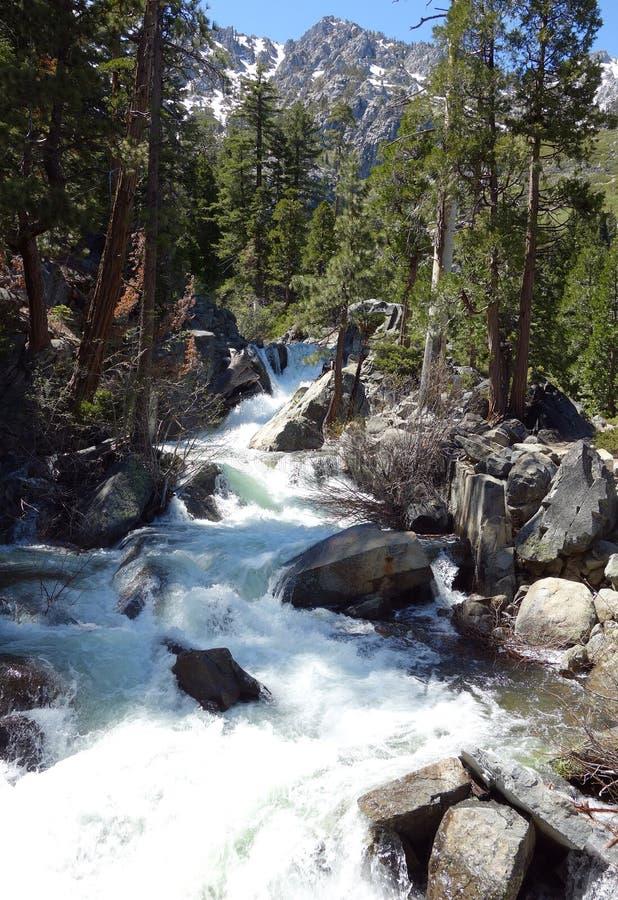 Eagle Falls em Lake Tahoe fotografia de stock