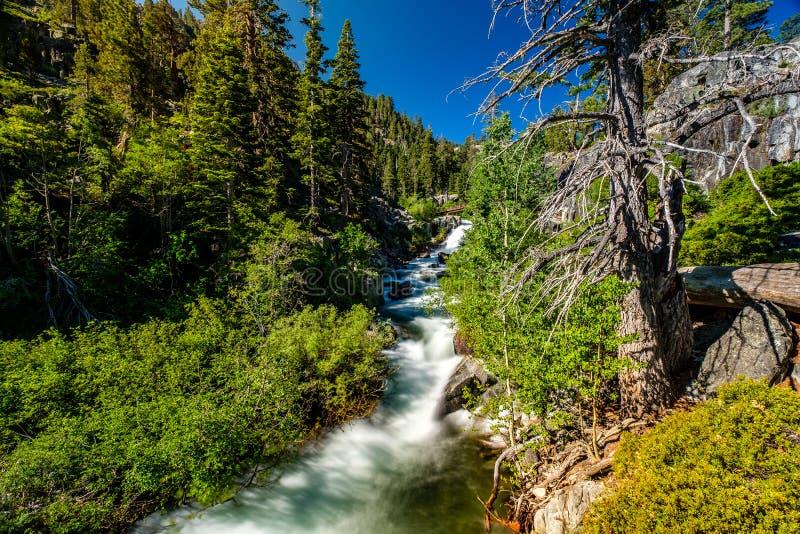 Eagle Falls en el lago Tahoe - California, los E.E.U.U. imagen de archivo