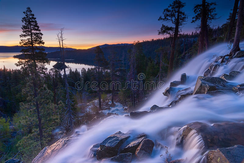Eagle Falls Flow photographie stock