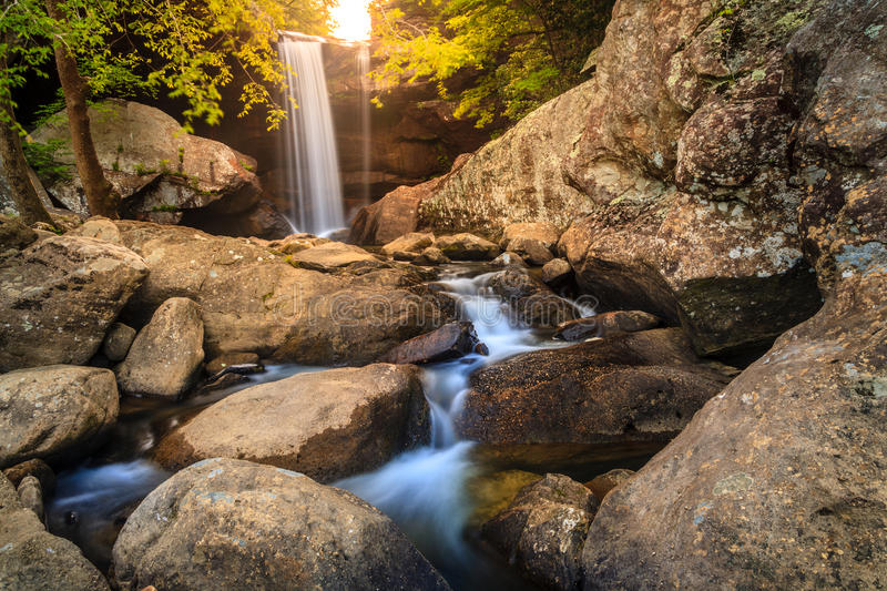 Download Eagle falls stock image. Image of pouring, nature, vibrant - 41048347