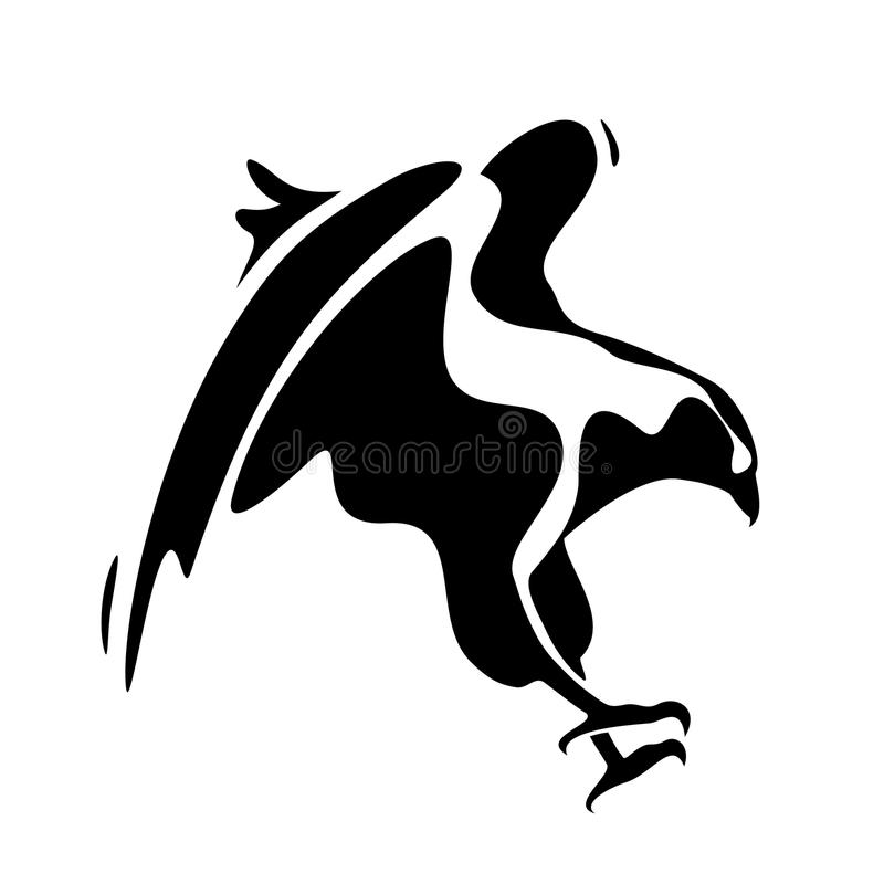 Eagle-Fangen stockfoto