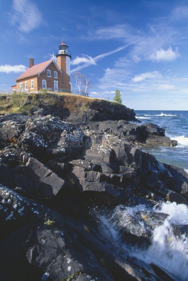 Download Eagle Harbor Lighthouse stock image. Image of coastline - 26261663