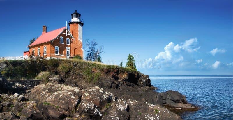 Eagle Harbor Lighthouse royalty free stock photo