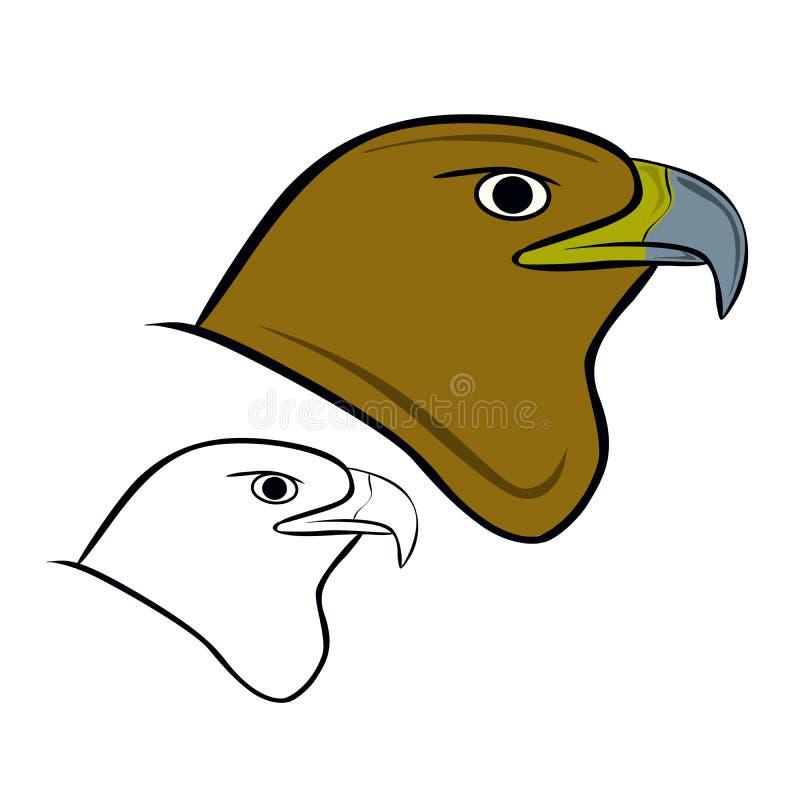 Eagle Head illustration de vecteur