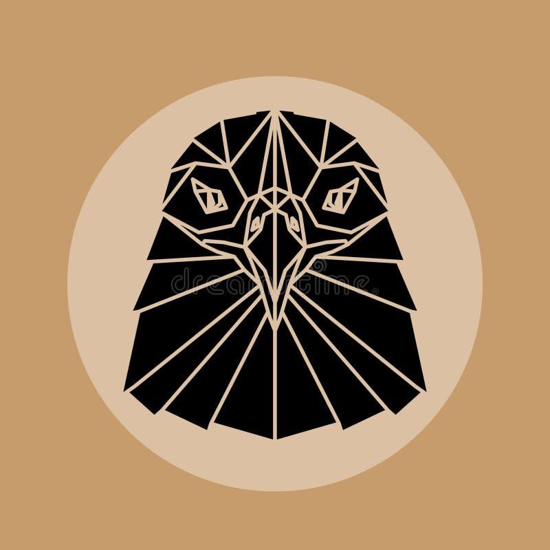 Eagle Head ilustração do vetor