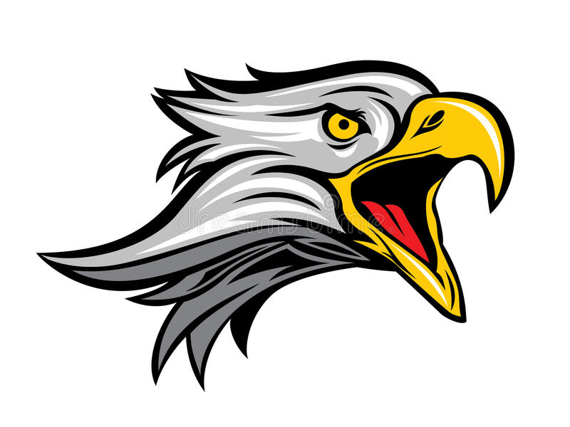 Eagle Head Logo Icon vector illustratie