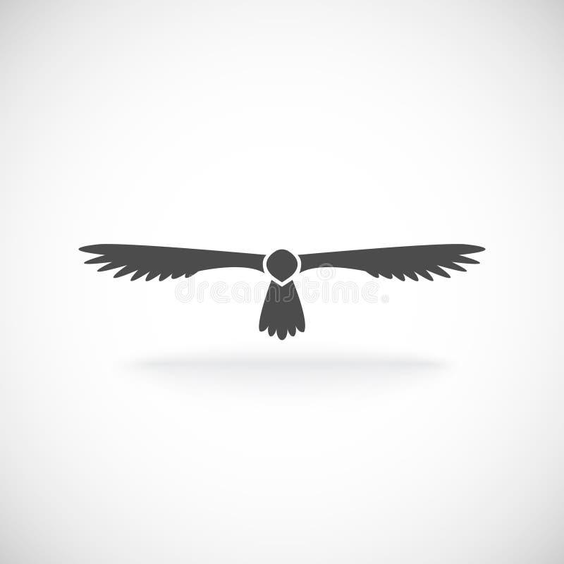 Eagle Icon stock de ilustración