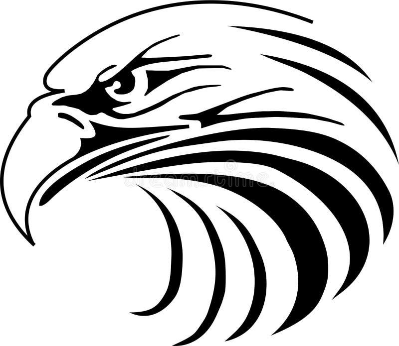 Eagle Illustration royaltyfri illustrationer