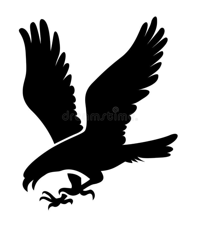 Eagle illustration stock illustration