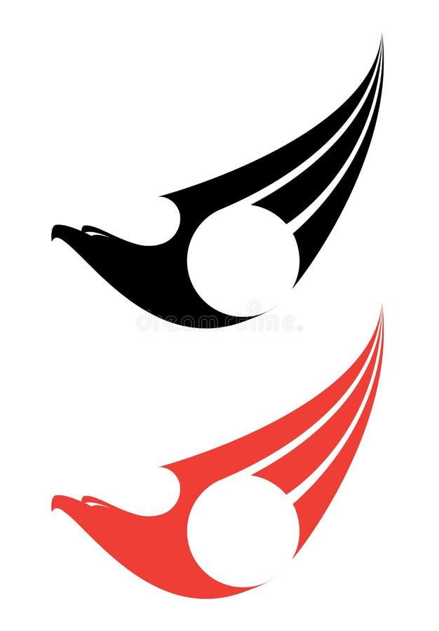 Download Eagle label stock vector. Image of mascot, symbol, animal - 28592353