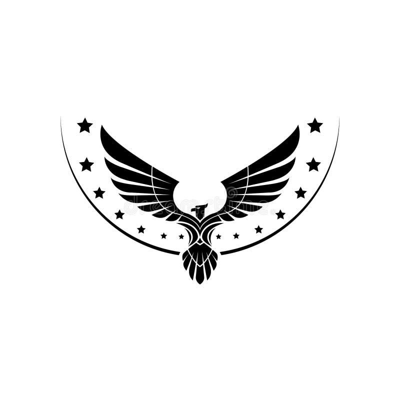Eagle Logo Design Inspiration Vector image libre de droits