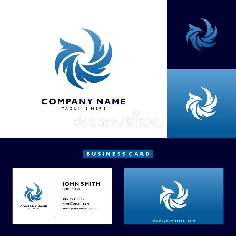 Eagle-Logovektor-Zusammenfassungsschablone stockfoto