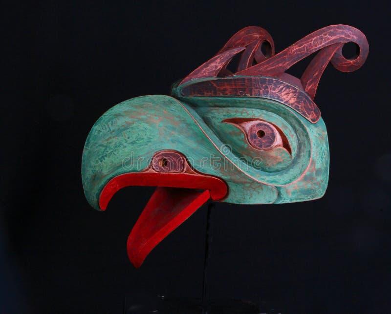 Eagle Mask fotografia stock