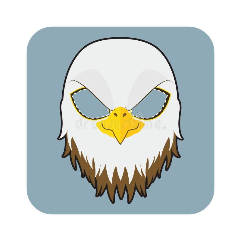 Eagle Mask illustration stock