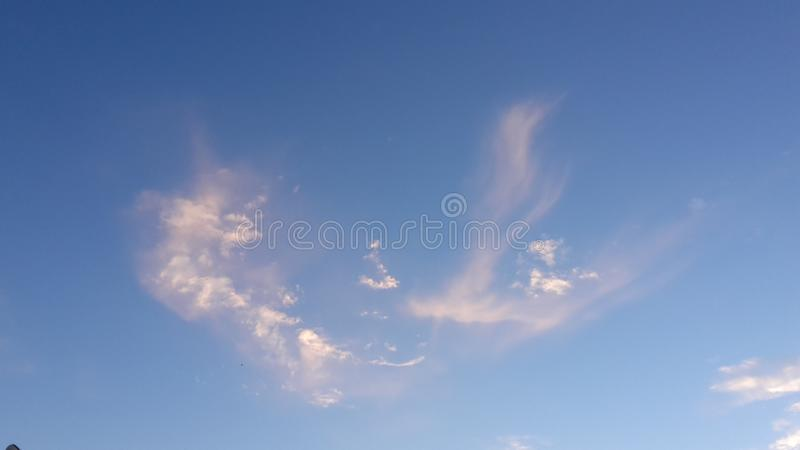 Eagle moln royaltyfri foto