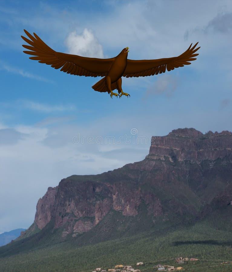 Eagle Mountain stock photo