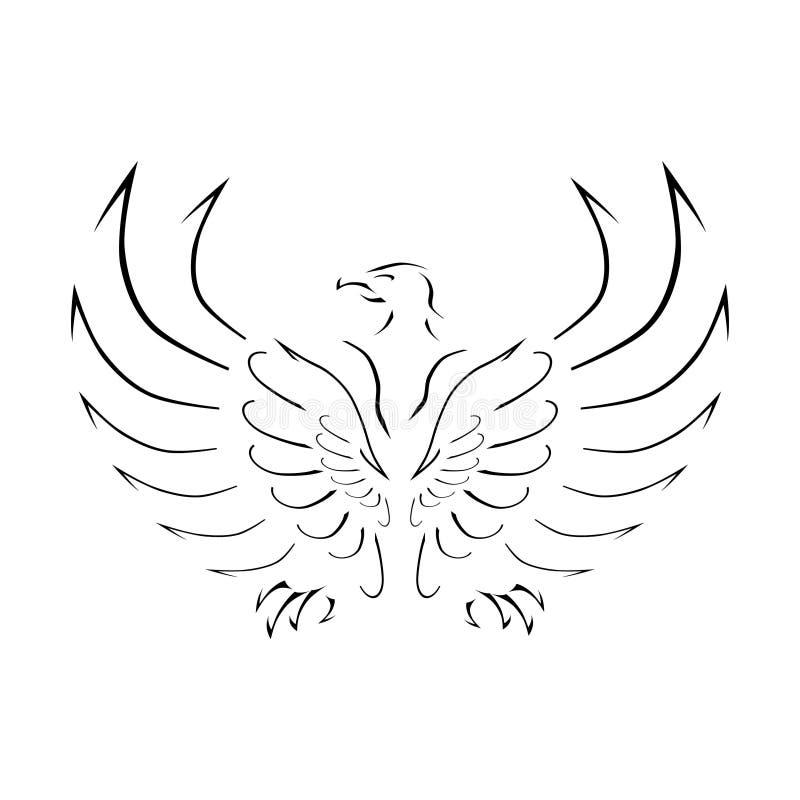 Eagle-Muster stockfotografie