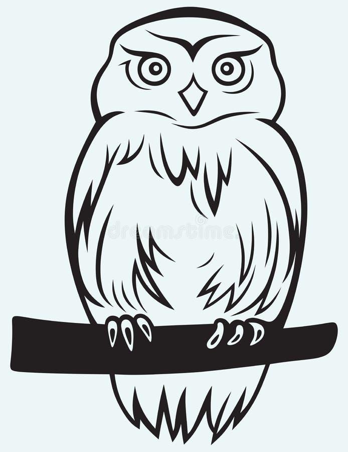 Eagle Owl ilustração stock