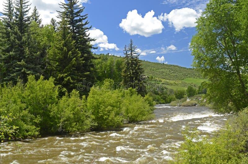 Eagle River fotografie stock
