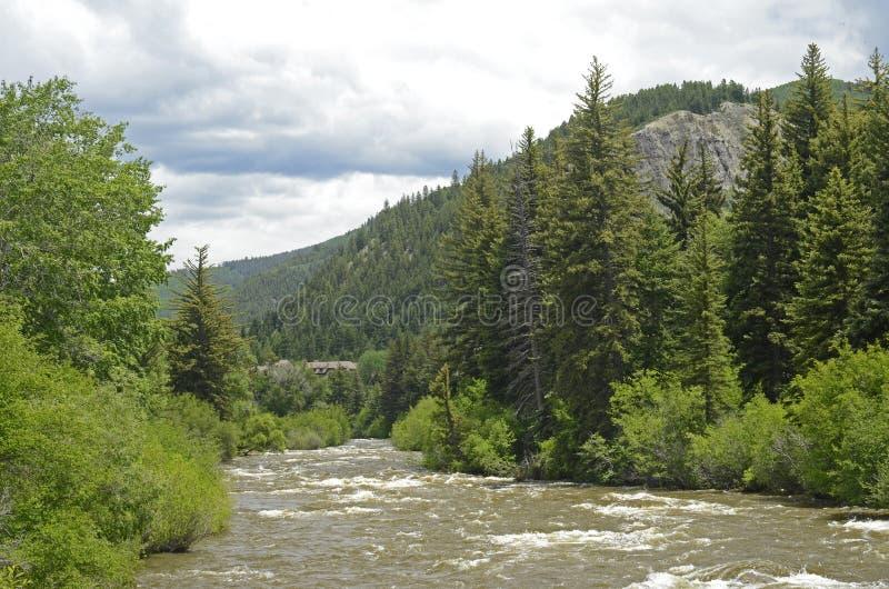 Eagle Riverwalk Scenic immagini stock libere da diritti