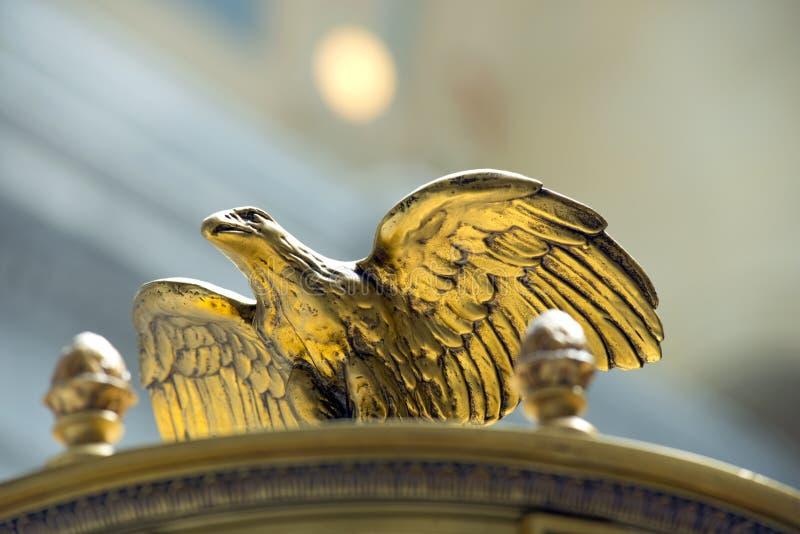 Eagle Sculpture im Staat Utah-Kapitol stockfotografie