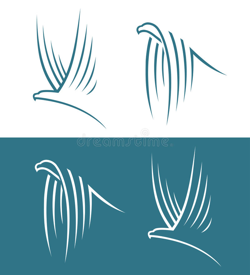 Download Eagle signs stock vector. Illustration of graphic, idea - 32566188