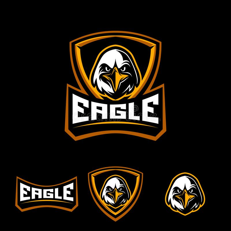 Eagle sporta logo royalty ilustracja
