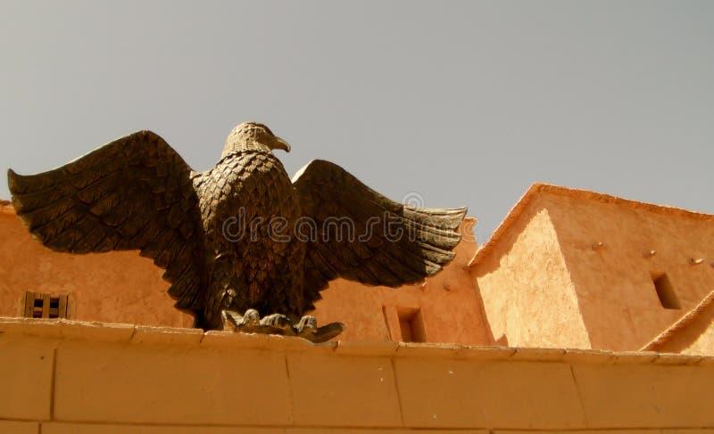Eagle Statute photo libre de droits