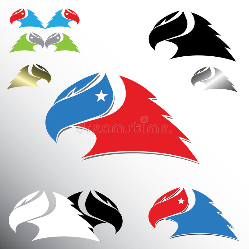 Download Eagle symbol stock vector. Illustration of american, feathers - 26778893