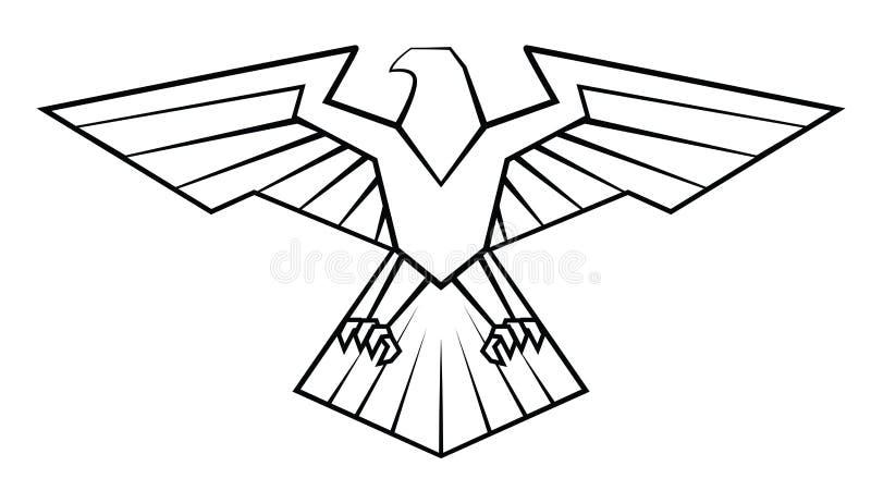 Eagle Symbol vektor abbildung