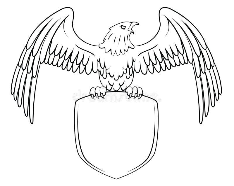 Eagle symbol royalty ilustracja