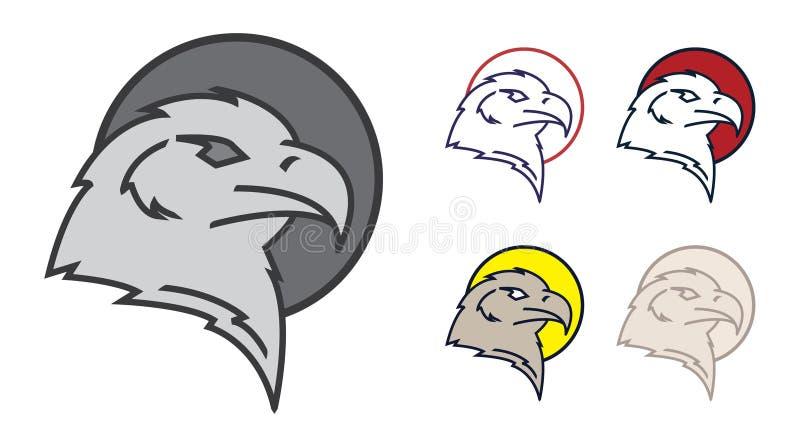 Eagle symbol stock illustration