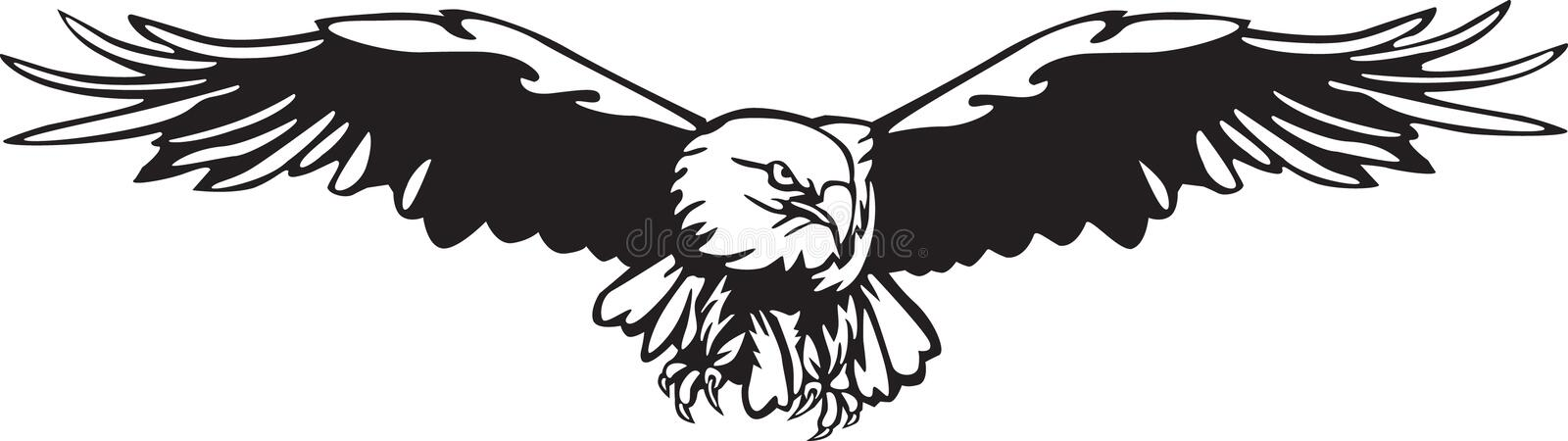 Eagle-vector stock illustratie