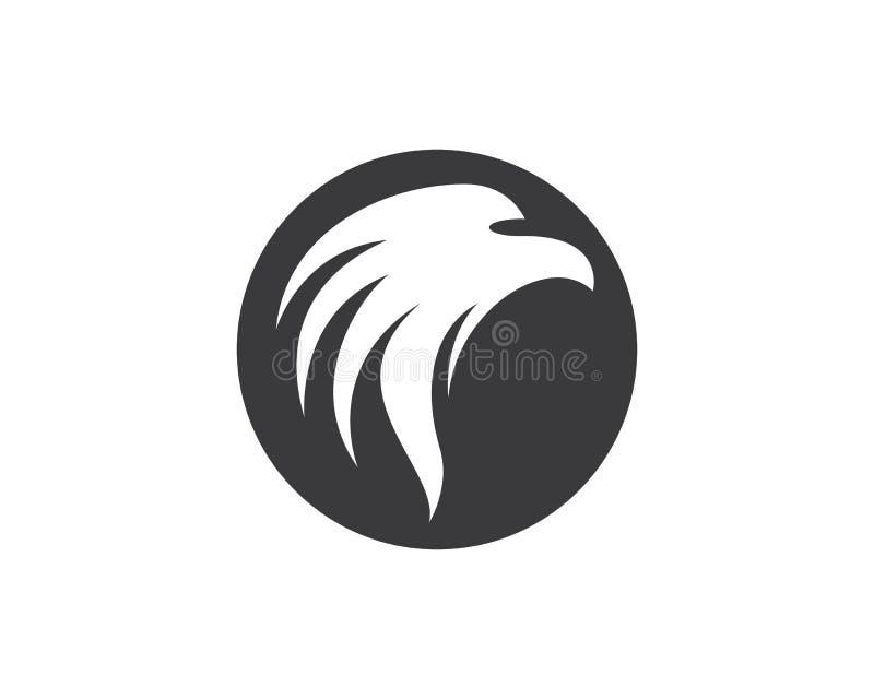 Eagle vector icon illustration design stock illustration