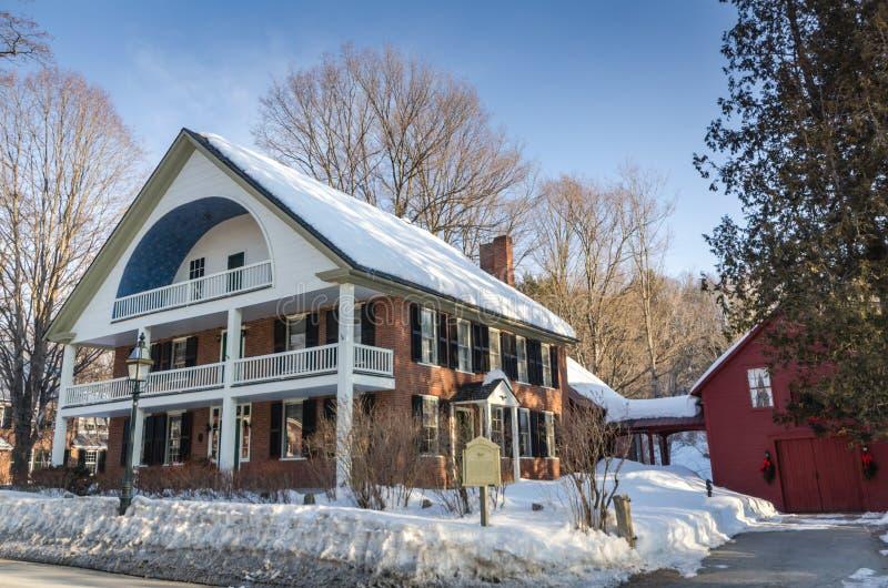 Eaglebrook de Grafton - Grafton, Vermont fotografía de archivo libre de regalías
